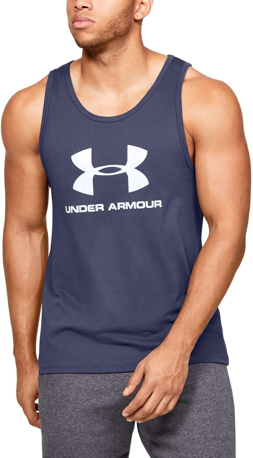 Magliette intime Under Armour UA SPORTSTYLE LOGO TANK