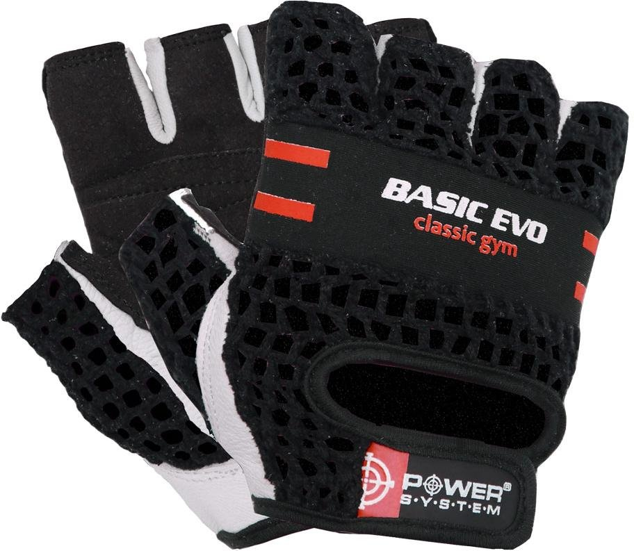 Guanti Power System POWER SYSTEM-GLOVES BASIC EVO- RED