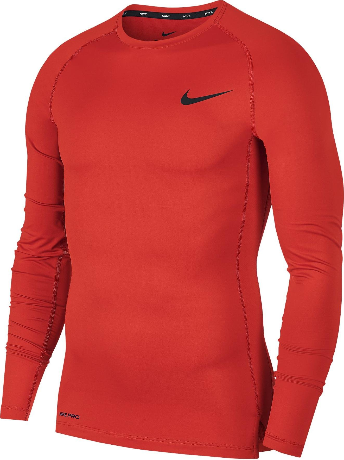 Magliette compresse Nike M NP TOP LS TIGHT